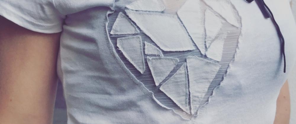 Alja Slemensek - Organic T-Shirt - Heart