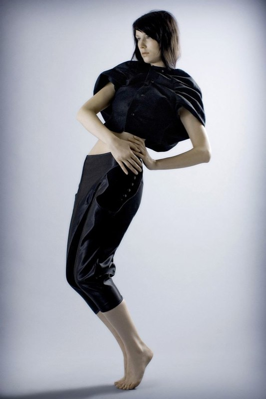 Alja Slemensek - Fashion Collection - Graduate - Lean Back
