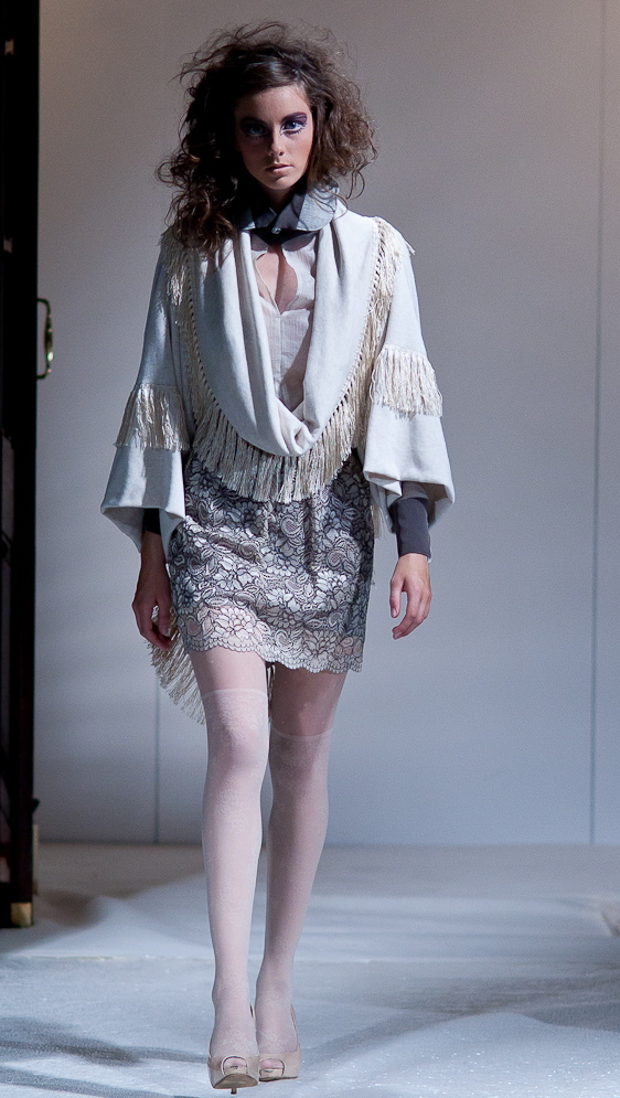 Alja Slemensek - Fashion Collection for London Fashion Week - Flowers Skirt