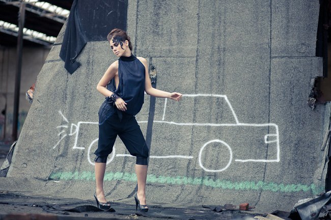 Alja Slemensek - Fashion Collection - Ramazotti Runway - Car Graffiti