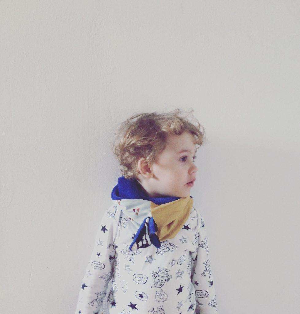 Alja Slemensek - Fox Scarf for Kids - Autumn Blues