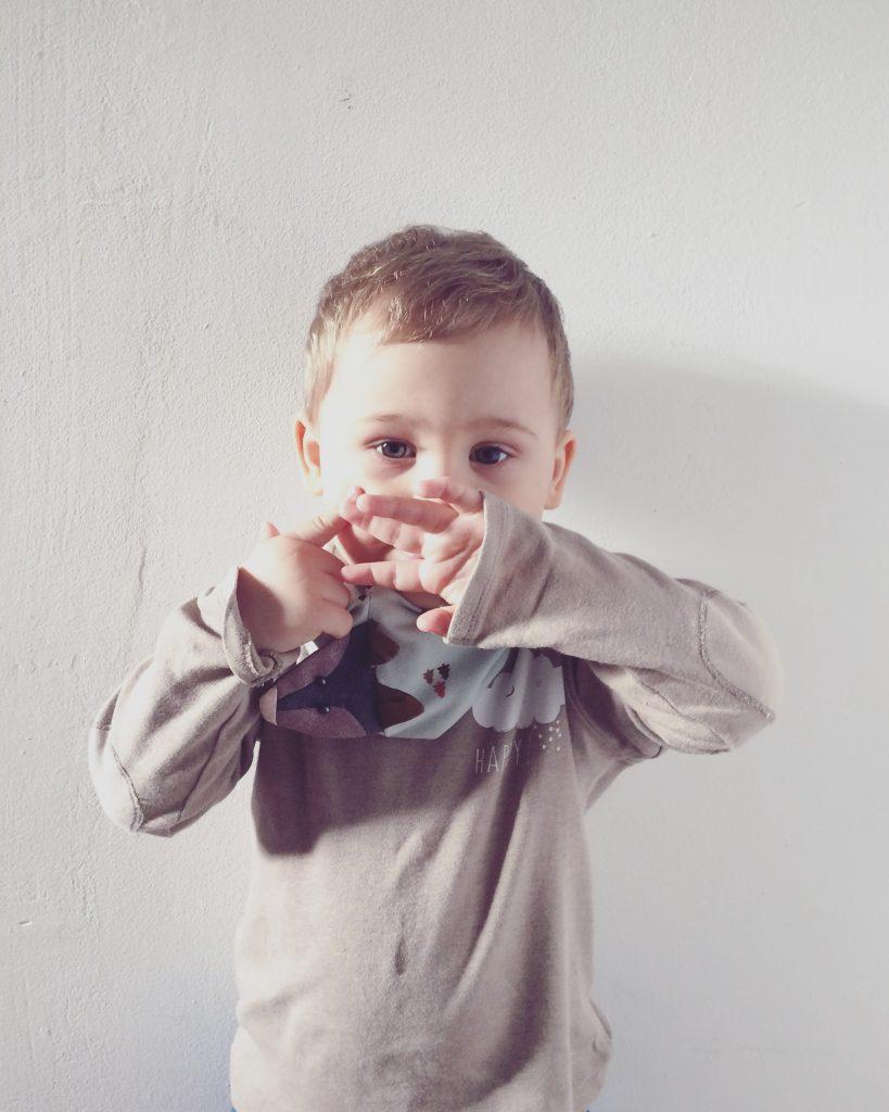 Alja Slemensek - Fox Scarf for Kids - Boys Scarf