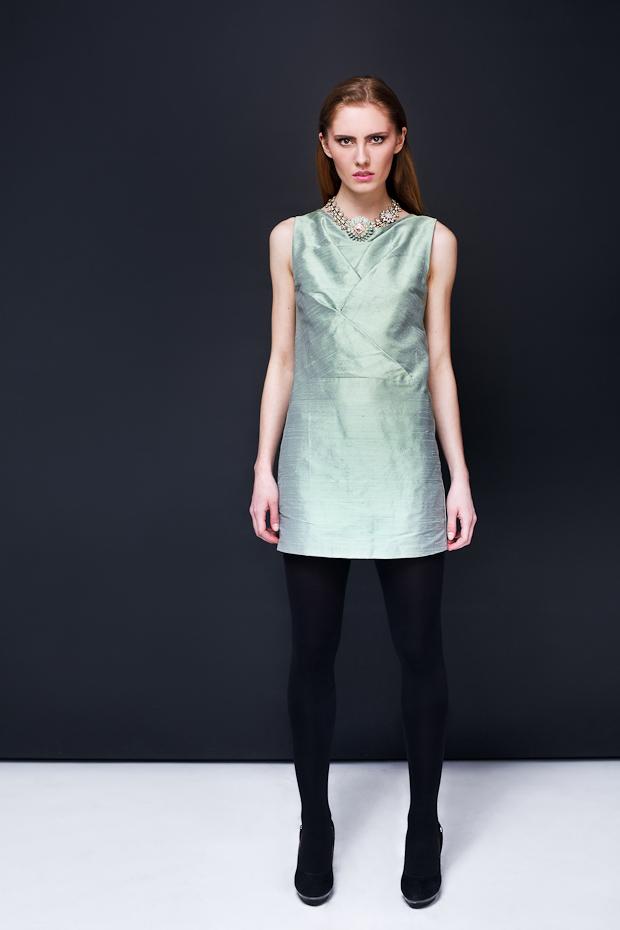Alja Slemensek - Lookbook - Emerald Dress
