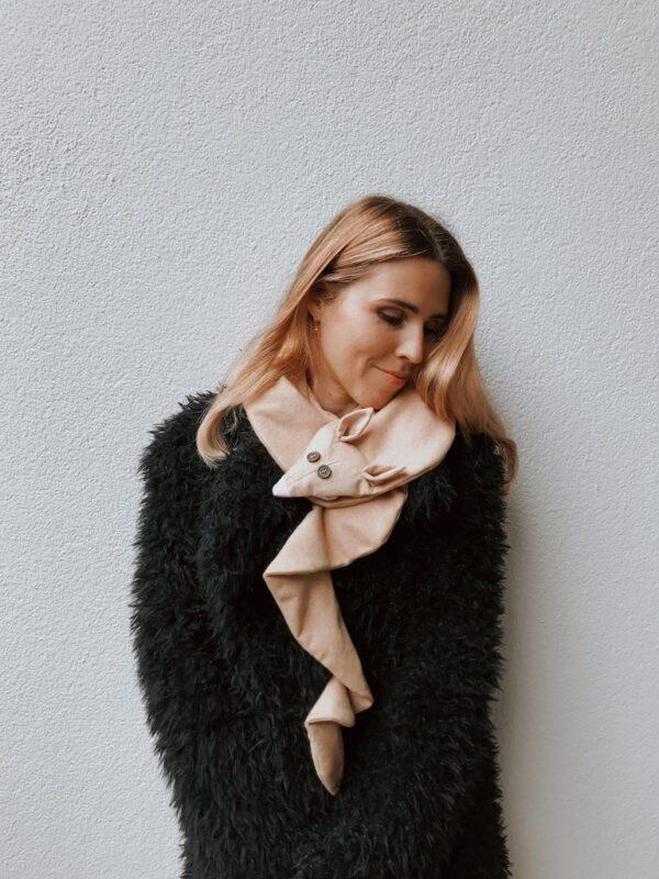 Animal scarf for Women - Desert Fox - Mood