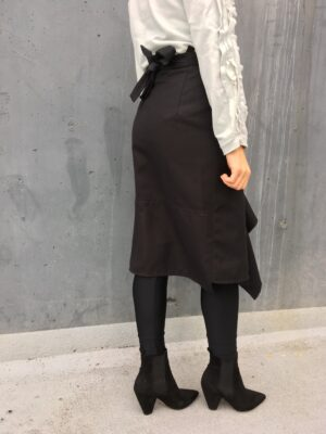 Front Flare Wrap Skirt