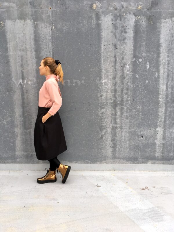 Wrap Skirt with side Pockets