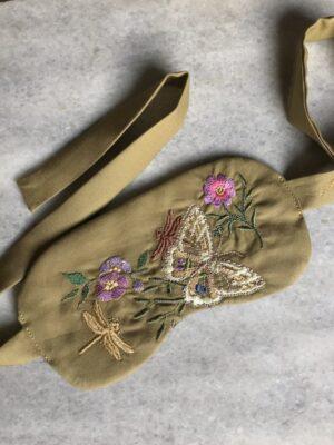 Sleep Mask - Butterfly - Bronze