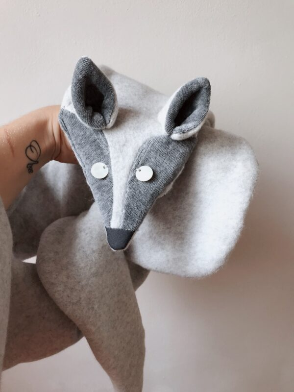 Animal Scarf for Women - Arctic Fox - Front
